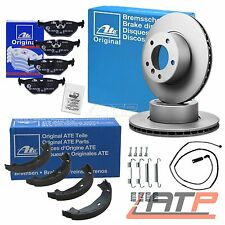 GENUINE ATE BRAKE DISCS + PADS REAR AXLE VENTED Ø276 BMW 3 SERIES E46