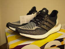New ADIDAS ULTRA BOOST Limited Black Metallic Silver Primeknit UK7.5 US8