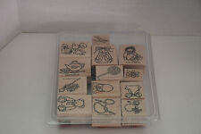 Stampin Up Buttons Bows Twinkletoes Stamp Set 13 Retired