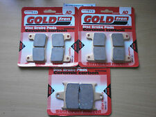 SUZUKI GSX-R 600 (K4 2004 K5 2005)   FULL SET SINTERED HH BRAKE PADS   GOLDFREN