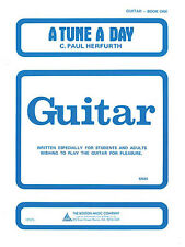 A Tune a Day for Guitar Book 1 Learn How to Play Beginner Music Lessons NEW