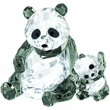 Swarovski Panda Mother  with  baby New 2015 Crystal # 5063690 and &
