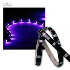 """1m LED Stripe """"CLS-100UV"""", 30x 5050 SMD UV/Luz negra LEDs, Banda Rígida Ligera"""