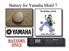 Battery for Yamaha Motif 7 Series Synths - Internal Memory Replacement Battery