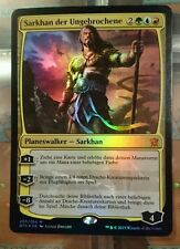 1x SARKHAN DER UNGEBROCHENE - Sarkhan Unbroken - Magic the Gathering - FOIL