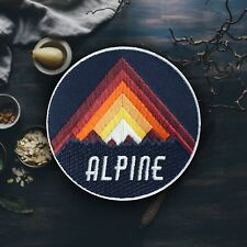 Alpine Mountain Hiking Patch (Free Shipping US)