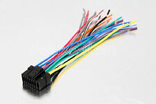 ALPINE CAR RADIO STEREO 16-PIN WIRE WIRING HARNESS 2