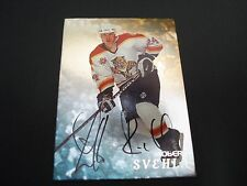 ROBERT SVEHLA 1998 IN THE GAME CERTIFIED SIGNED AUTOGRAPHED NHL HOCKEY CARD