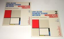 12 LPs in 2 Boxen - Residentie Orkest - 400 Jaar Nederlandse Muziek 1 & 2