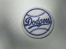 "1960s Vintage Baseball Cloth patch Los Angeles Dodgers  2"" NOS"