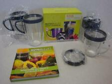 NutriBullet Deluxe Upgrade Kit + 2 Extra Cups + Book