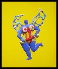 Niki de saint phalle Clarice again póster imagen son impresiones artísticas en el marco de aluminio 58x48cm