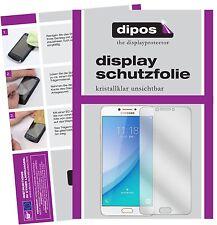 2x Samsung Galaxy C7 Pro Schutzfolie klar Displayschutzfolie Folie dipos