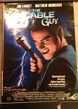 CABLE GUY POSTER. JIM CARREY.
