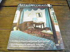 Art et décoration la revue de la maison n°180 Septembre 1974