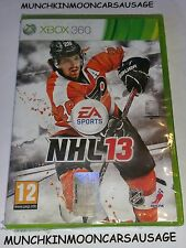 New Sealed NHL 13 for PAL Microsoft XBox 360 FREE UK P&P EA Sports Ice Hockey