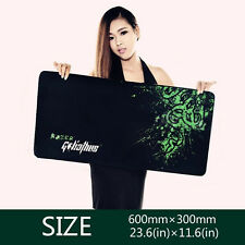 Rubber Razer Goliathus Mantis Control Game Mouse Pad Mat Large XL Size 600*300MM