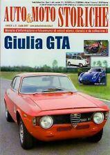 RIVISTA AUTO & MOTO STORICHE ANNO II  N 8 GIULIA GTA
