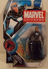 "Marvel Universe 3.75"" Series 2 #018 Havok X-Men Hasbro (Mint On Card)"