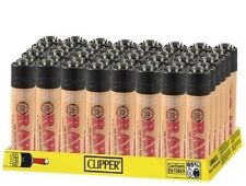 48 Lighters Raw MINI Style Clipper Lighters The Super Lighter Refillable 48 Pcs.