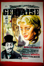 GERVAISE 1956 MARIA SCHELL FRANCIS PERIER R. CLEMENT MEGA RARE EXYU MOVIE POSTER