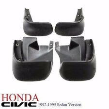 New 92-95 Honda Civic EG9 SR4 Sedan Front + Rear Full Mud Splash Guard Set 4Door