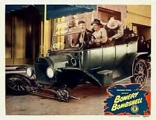 BOWERY BOYS * SLIP & SACH sit in jalopy * BOWERY BOMBSHELL * 11x14 LC Print 1946