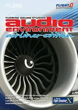 FLIGHT SIMULATOR X AUDIO ENVIRONMENT AIRLINER ED PC