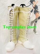 Final Fantasy 7 Cosplay Yuffie Kisaragi Cosplay Boots shoes Version B boot shoe