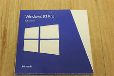 MICROSOFT WINDOWS 8.1 PRO FULL  RETAIL BOX SKU-FQC-06913 UNOPENED FACTORY SEALED