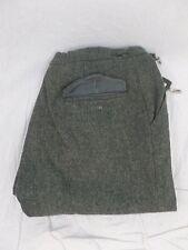 Vintage Grey Wool Knickers Skiing Cross Country Pants (34x19)