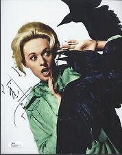 TIPPI HEDREN SIGNED 'THE BIRDS' 8X10 PHOTO 'MELANIE DANIELS' AUTOGRAPH JSA COA