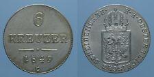 AUSTRIA 6 KREUZER 1849 C FRANZ JOSEPH I SPL