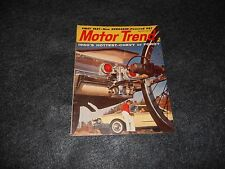 Motor Trend Magazine February 1960 Hottest Chevy or Ford?