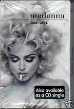 MADONNA - BAD GIRL 1993 AUSTRALIAN CASSINGLE FACTORY SEALED MAVERICK 543918650-4