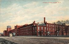 CORTLAND NEW YORK WICKWIRE BROTHERS WIRE CLOTH WORKS FACTORY POSTCARD c1910