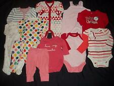 (ENTIRE LOT BABY GAP) Girls 0-3M Fall Winter Clothes Outfits 0 3 Months CUTE EUC