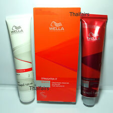 WELLA PERMANENT STRAIGHT HAIR CREAM - SYSTEM INTENSE WELLASTRATE FOR NORMAL HAIR