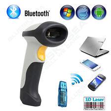 Inalámbrico Bluetooth Escáner Código De Barras Lector De Códigos para Apple
