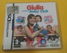 Giulia Passione Baby Club GIOCO NINTENDO DS