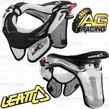 Leatt 2014 GPX Race Neck Brace Protector White Small Medium Kids Motocross New