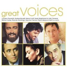 Great Voices (19 tracks, 2002) Freddie Mercury & Montserrat Caballé, Andr.. [CD]