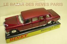 DINKY TOYS GB. MERCEDES BENZ 600 + Boite.  REF: 128.