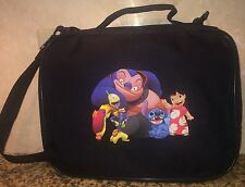 TRADING BOOK FOR DISNEY Jumba Stitch Lilo Pleakley  LRG/MED PIN BAG