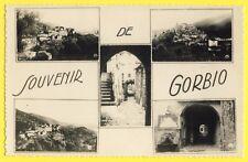 cpsm Ecrite en 1957  SOUVENIR de GORBIO (Alpes Maritimes) SAMYN à WORMHOUT