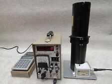 LUDLUM 2200 Scaler ratemeter + 182 Radon Flask Detector, 264 Printing Calculator