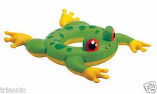 FROG INFLATABLE INTEX BIG ANIMAL KIDS SWIM RING POOL FLOAT RAFT SWIMMING TUBE