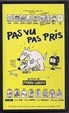 VHS RARE - PAS VU PAS PRIS : UN FILM DE PIERRE CARLES