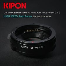 Kipon Auto Focus AF Canon EOS EF lens to Micro 4/3 Adapter MFT mount OM-D GH4 G6