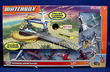 NEW Matchbox Sky Busters SUPERSONIC AIRPORT Playset & 10 AIRCRAFT PLANES Target